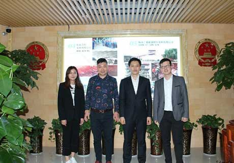 Korea Customers Visiting RS Company