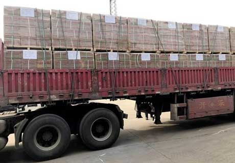 Sending Refractory Bricks To Korea