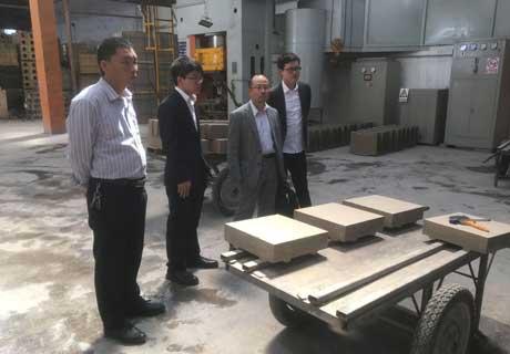 Visiting Rongsheng Factory