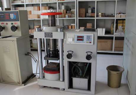 Advanced Testing Equipments for Refractory Bricks In Rongsheng