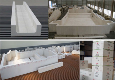 Fused Cast AZS Brick - RS Refractory Factory