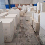 Zircon Refractory Bricks for Key Parts of Kilns