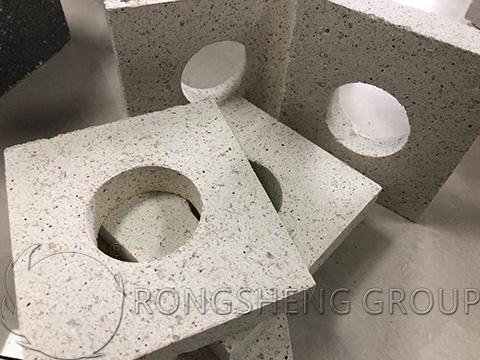 RS High Quality Fused Silica Bricks
