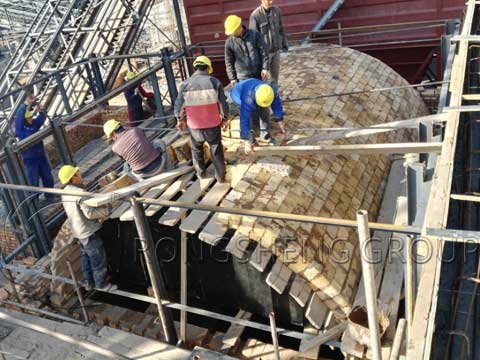 Construction of Furnace Refractory Lining